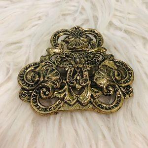 Vintage Ornate Belt Buckle